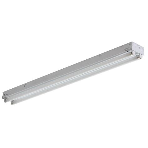lithonia lighting 2 light gloss white fluorescent