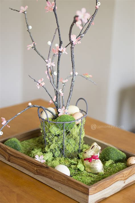 centerpieces for easter diy easter table centerpiece jamonkey