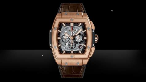 Hublot Senna 88 Black Leather hublot spirit of big