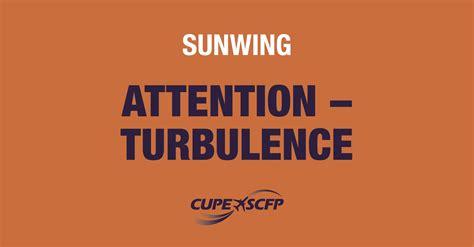 Sunwing Deal Calendar Risk Of Turbulence At Sunwing Flight Attendants Give