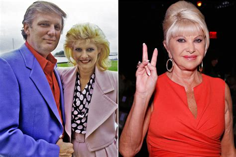 donald trump first wife ivana trump on how she advises donald and those hands