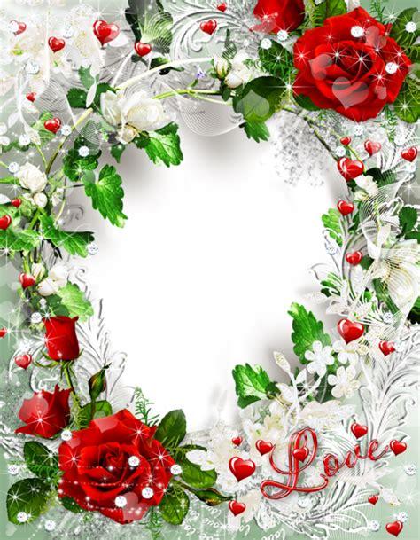 Homestyles beautiful transparent rose photo frame love athina