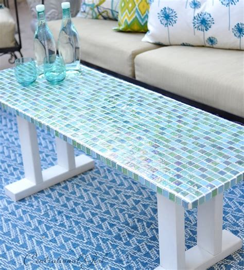 how to a tile table top for outdoors diy tile outdoor table centsational