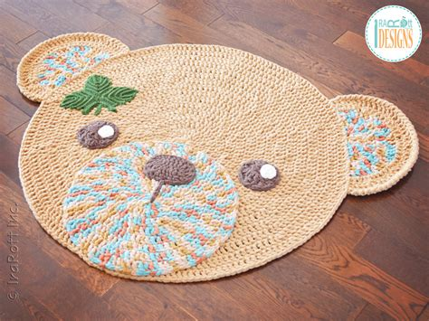 crochet rug patterns classic rug pdf crochet pattern irarott inc