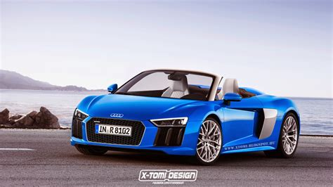 audi rs8 spyder upcoming second audi r8 spyder imagined gtspirit