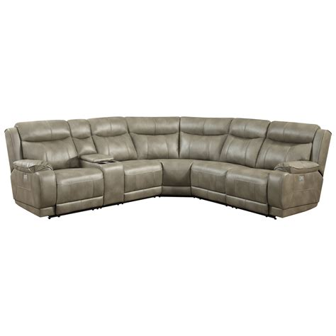 sectional sofa with usb port klaussner international humphrey us reclining sectional