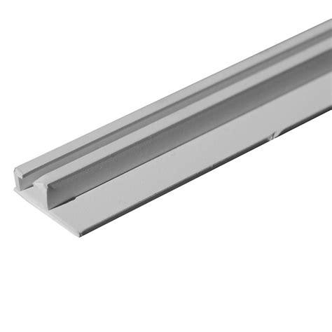 slide curtain track internal ceiling slide track 96 quot white rv designer