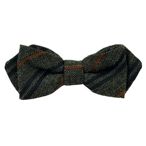 gagliardi black navy blue orange twill striped designer