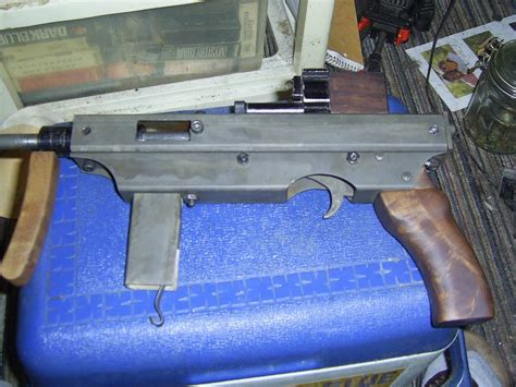 How To Make A Paper Smg - a diy submachine gun the firearm blogthe firearm