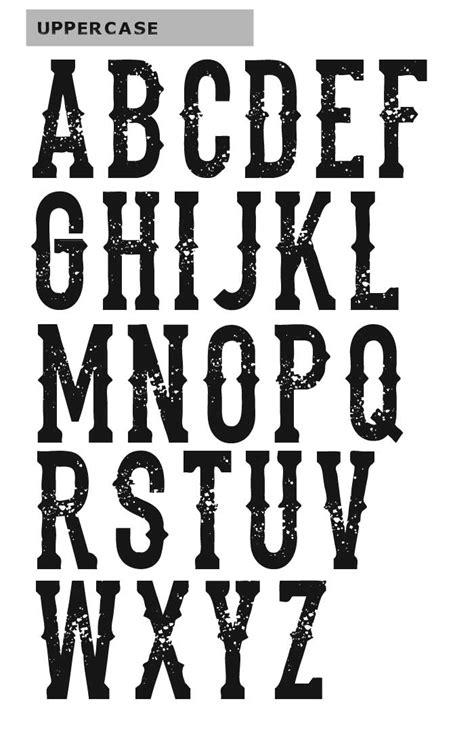 dead saloon menu chris vile fonts the dead saloon font
