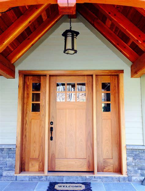 Exterior Doors Nyc Timber Frame Exterior Doors New Energy Works