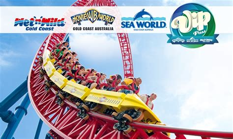 theme park vip pass village roadshow theme parks in main beach groupon