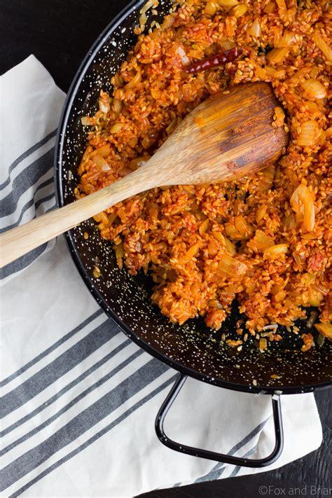 best paella rice shrimp and chorizo paella recipe easy paella at home