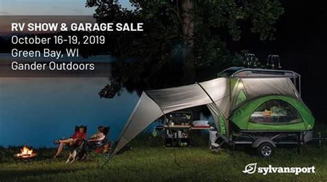 gander outdoors rv show garage sale green bay