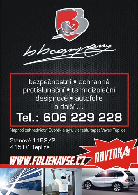 Autofolie Usti Nad Labem by T 243 Nov 225 N 237 Autoskel A Celopolepy Vozů 218 St 237 Nad Labem Archiv