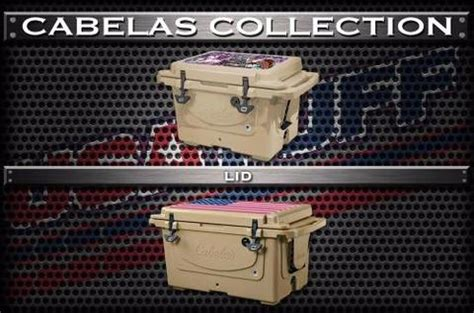 Cabelas Polar Cap Wrap Kits Usa Tuff Yeti Cooler Wrap Template