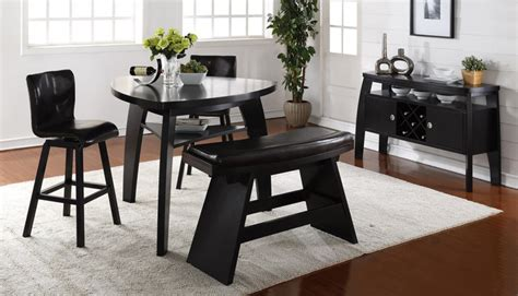 triangle dining table with bench triangle dining table with bench black leather seat