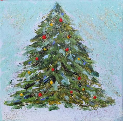 amy whitehouse paintings quot o christmas tree quot acrylic painting
