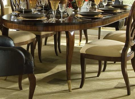 Bob Mackie Dining Room Furniture Bob Mackie Home Signature Oval Leg Table Buy Dining Room Furniture