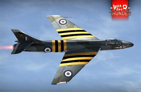 hawker hunters at war profile hawker hunter f 1 silver seeker of the skies project news read only war thunder