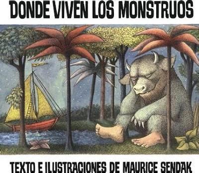 donde viven los monstruos 8420430226 donde viven los monstruos where the wild things are maurice sendak 9780613002295