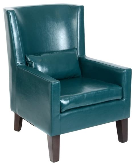 Kirkland Home Decor by Teal Faux Leather Arm Chair Home Decor By Kirkland S