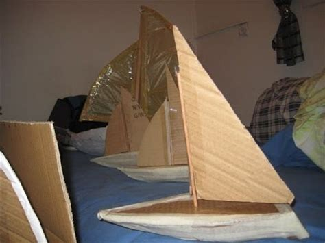How To Make A Big Boat Out Of Paper - how to build a cardboard boat