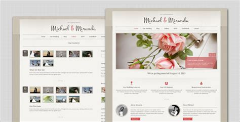 elegant themes photo gallery wedding classic and elegant wordpress theme by