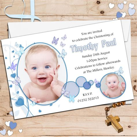 layout invitation for christening baptism invitation for boys christening invitation for