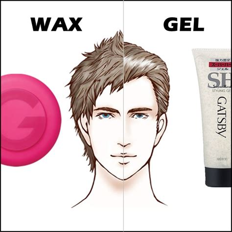 How To Use Wax To Style Hair by Differences Between Hair Wax And Hair Gel Hairstyle Tips