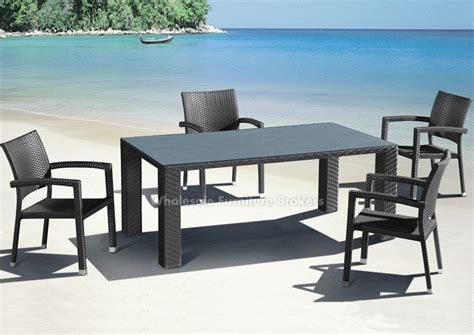 Patio Table Set Outdoor Dining Table Set Eldesignr