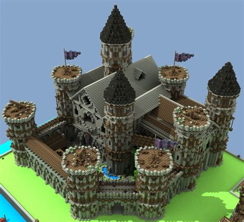 build a small castle how to build a medieval castle contest minecraft blog