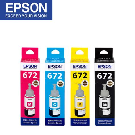 Printer Epson L485 Pengganti Epson L455 epson original printer ink 672 l360 l380 l485 l351 l1300