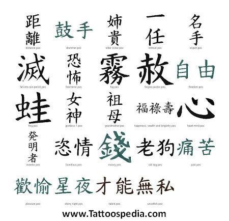 kanji tattoo san francisco tattoos designs kanji 1