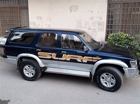 toyota surf car toyota surf ssr x 3 0d 1993 for sale in lahore pakwheels