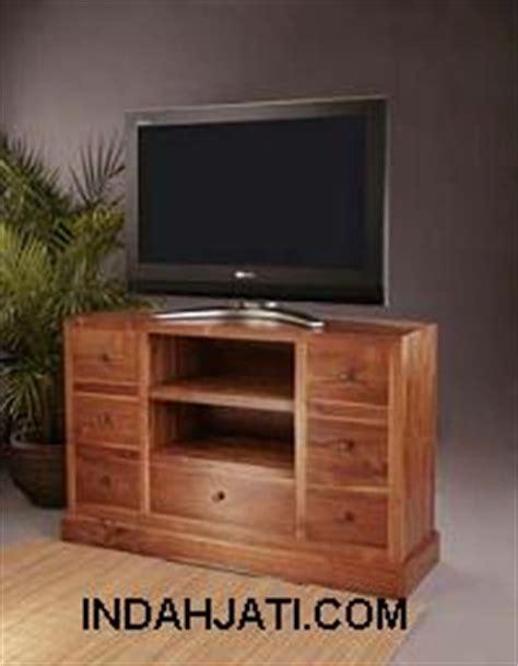 Dekorasi Pajangan Kayu Model Tv indah jati teak indoor furniture mebel dekorasi