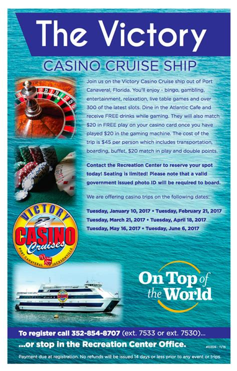 casino cruise victory the victory casino cruise ship on top of the world info
