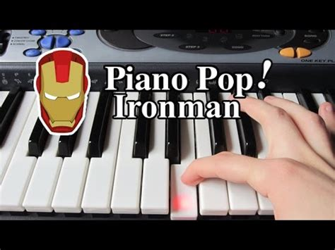 piano tutorial up theme ironman theme song piano lesson easy piano tutorial