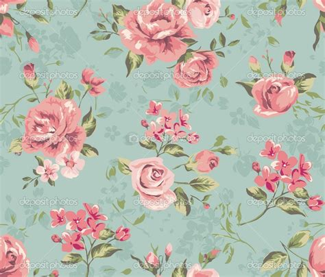 flower pattern desktop wallpaper vintage floral wallpaper pattern wallmaya com
