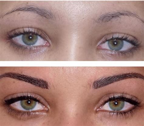tattoo makeup 17 best ideas about permanent makeup eyebrows on