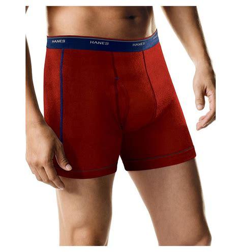 hanes comfort flex boxer briefs hanes sport boxer brief with comfort flex waistband 5 pack