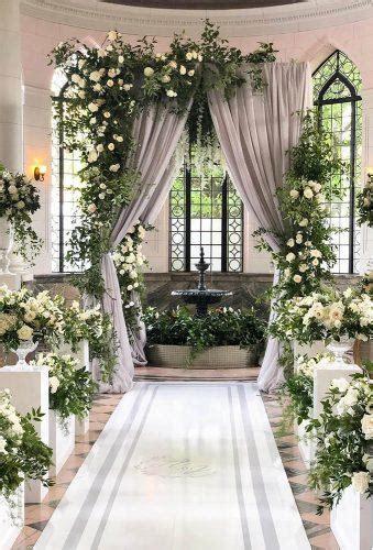 chic wedding flower decor ideas wedding