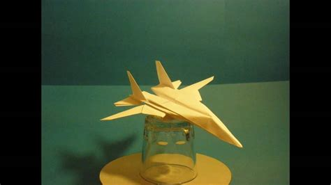 Origami F 14 - flyable origami f 14 tomcat by ken hmoob