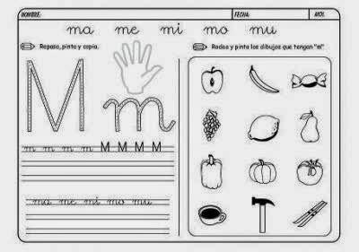 Maestra De Infantil Fichas Para Imprimir | maestra de primaria 300 fichas de lectoescritura listas