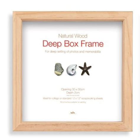 How To Make A Box Frame For Decoupage 3d Picture - box decoupage photo frame 12x12 buy at qd stores