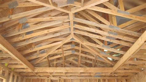 vaulted ceiling trusses vaulted studio design gallery photo
