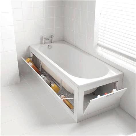bathtub storage ideas 73 practical bathroom storage ideas digsdigs