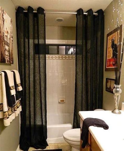 bathroom decorating ideas  shower curtains