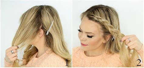come fare treccine attaccate alla testa treccia olandese intorno alla testa tutorial le shiste