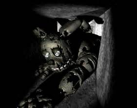 Nights at freddys springtrap in vents cool close up pictures